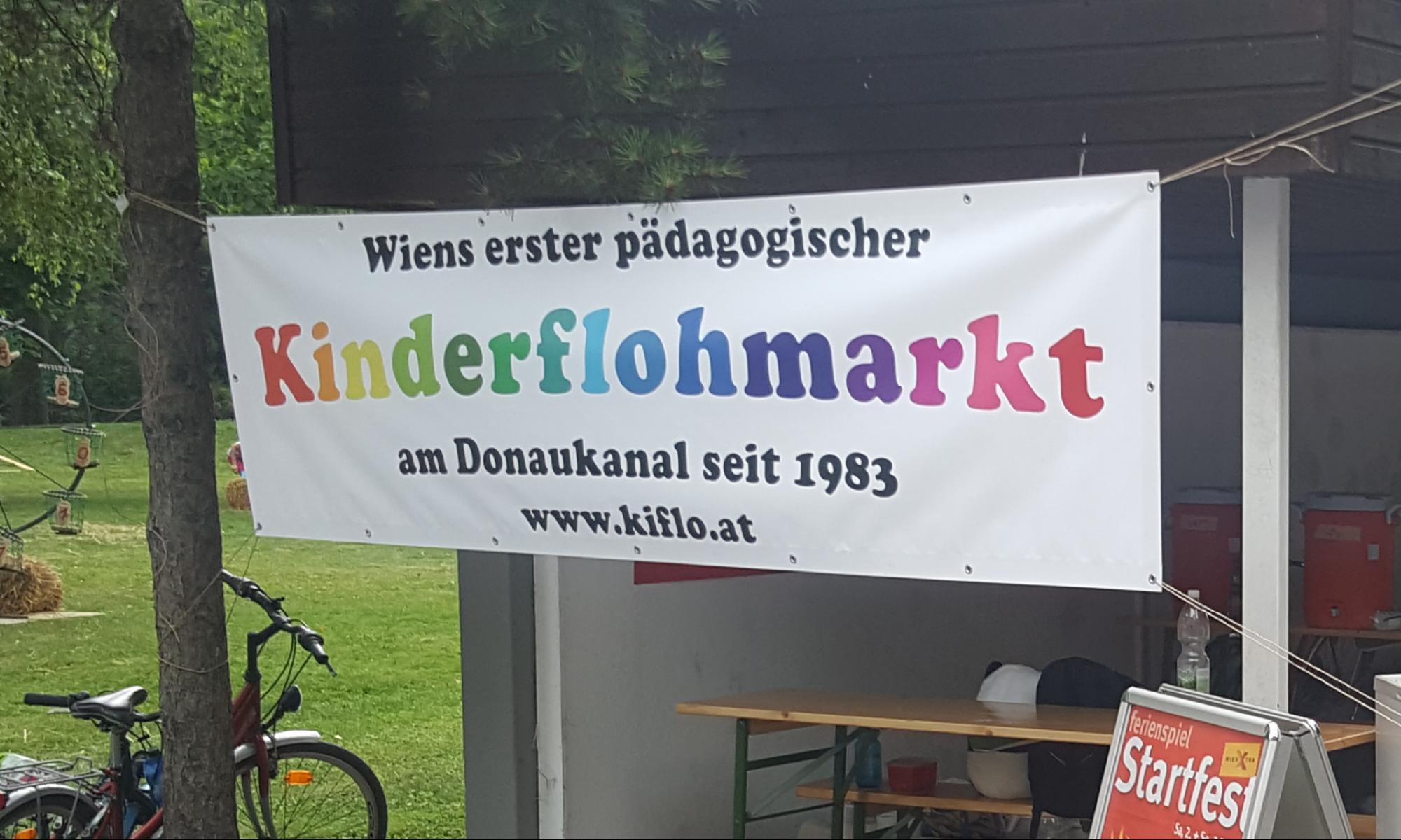 Kinderflohmarkt am Donaukanal